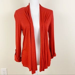 PINS AND NEEDLES Open Front Drape Cardigan